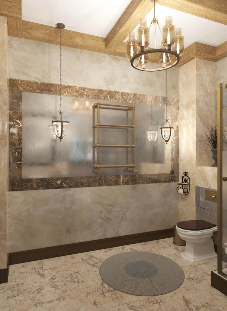 дизайн интерьера ванной