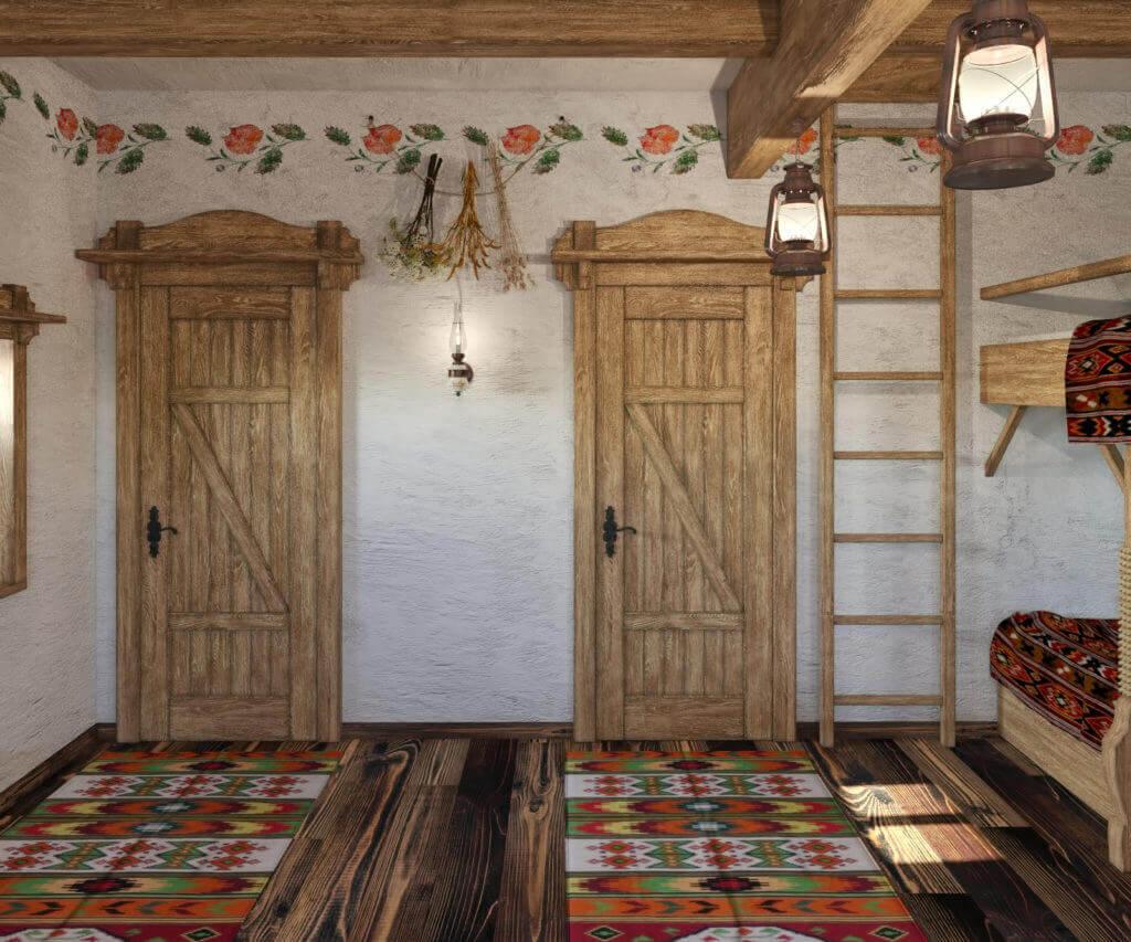 дизайн проект дома в украинском стиле