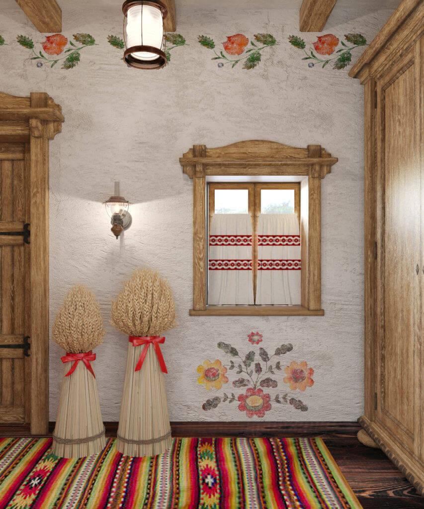 дизайн в украинском стиле загородный дом