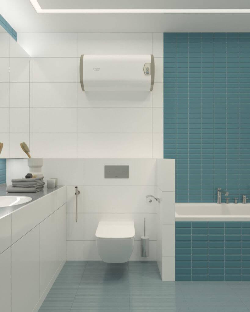 интерьер ванной комнаты проект Grapefruit
